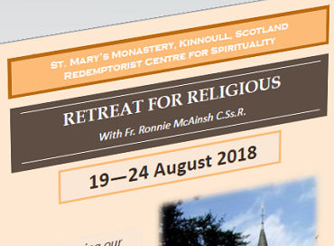 Retreat for Religious (19-24th August)