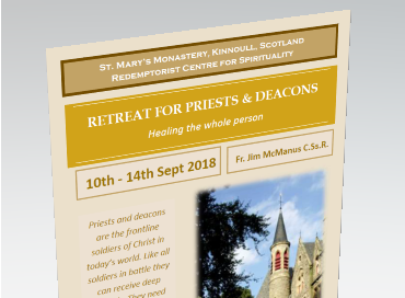 Priests & Deacons Retreat (10-14th September)